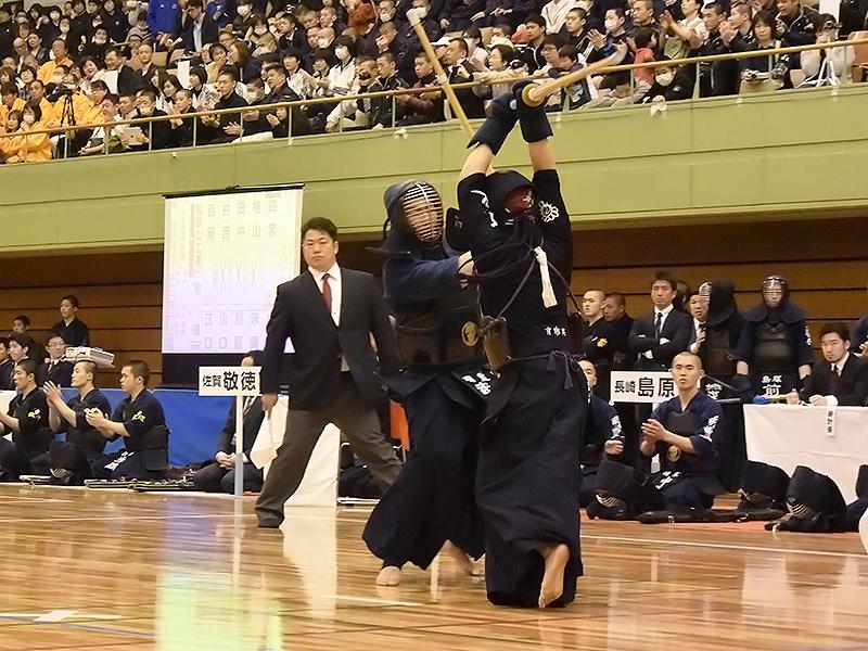 3回戦 奈良大附属(奈良)×高千穂(宮崎)ツキがはずれたところにひきメンを決める