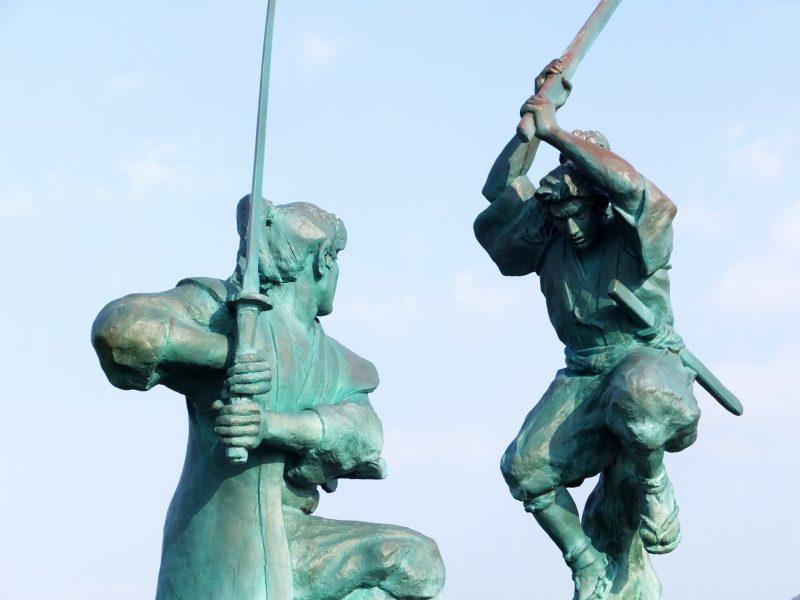 剣術の隆盛で流派は広がっていた