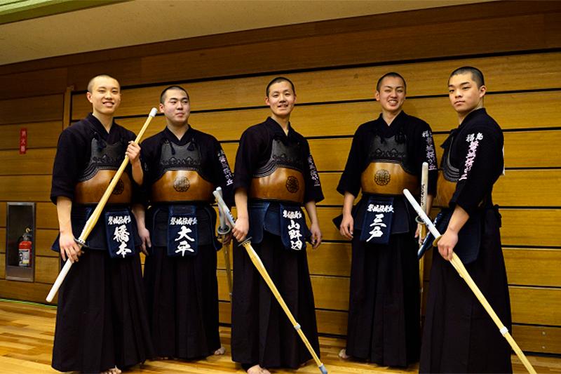 磐城桜が丘高校の選手たち