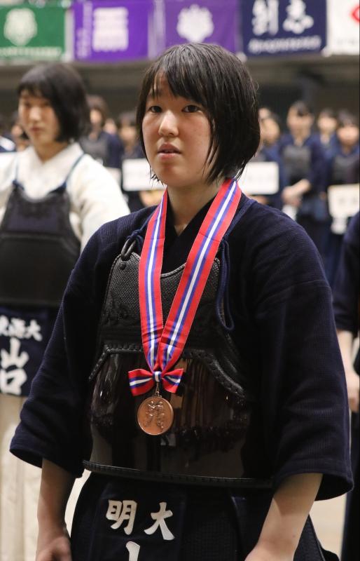 3位の小松選手