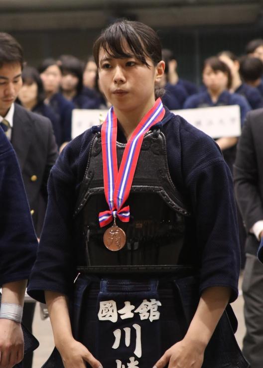 3位の川崎選手