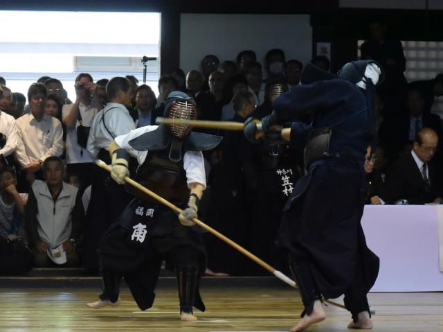 矢作惠一郎(山形)×角薫(福岡・薙刀)