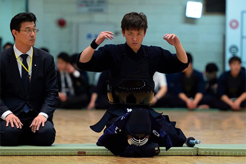 第64回関東学生剣道選手権大会・優勝の星子選手