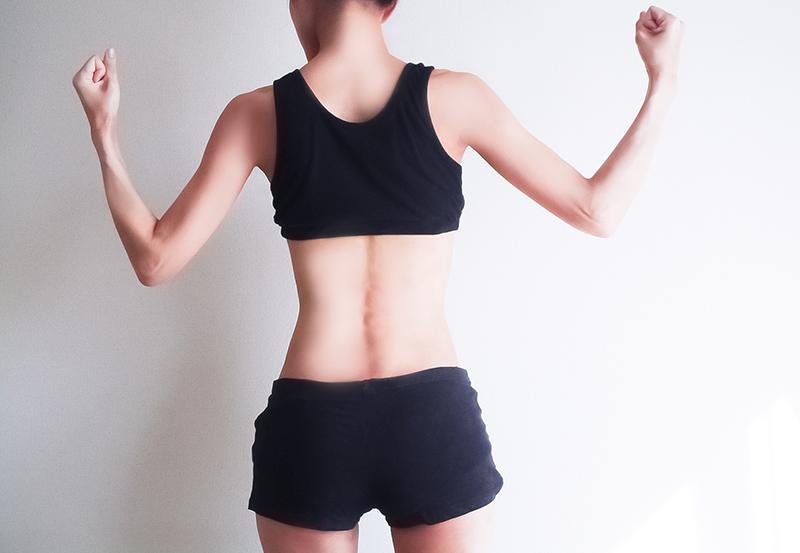 体幹を鍛える