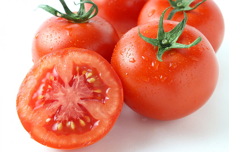 熱がこもった身体に【夏野菜と豚しゃぶのトマト煮】