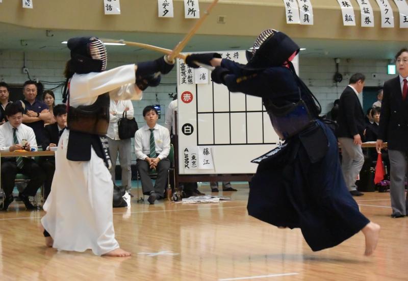 準々決勝で富士ゼロックス東京の城西チームを代表戦で下したALSOK。