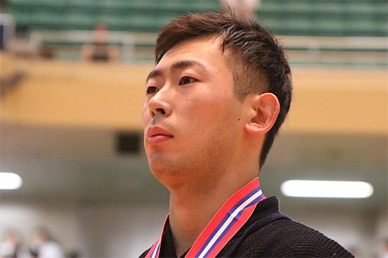 優勝・矢野選手