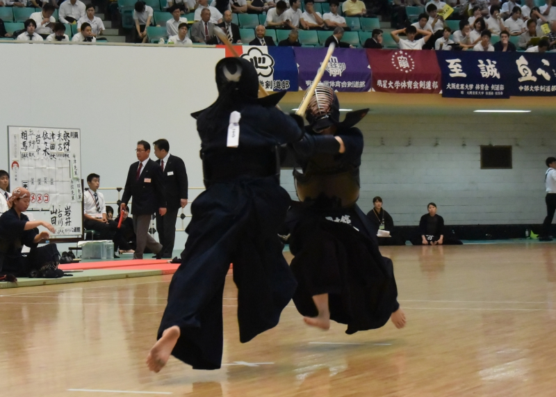 3回戦 井手璃華子(国士舘大)×畝本莉奈(中京大)