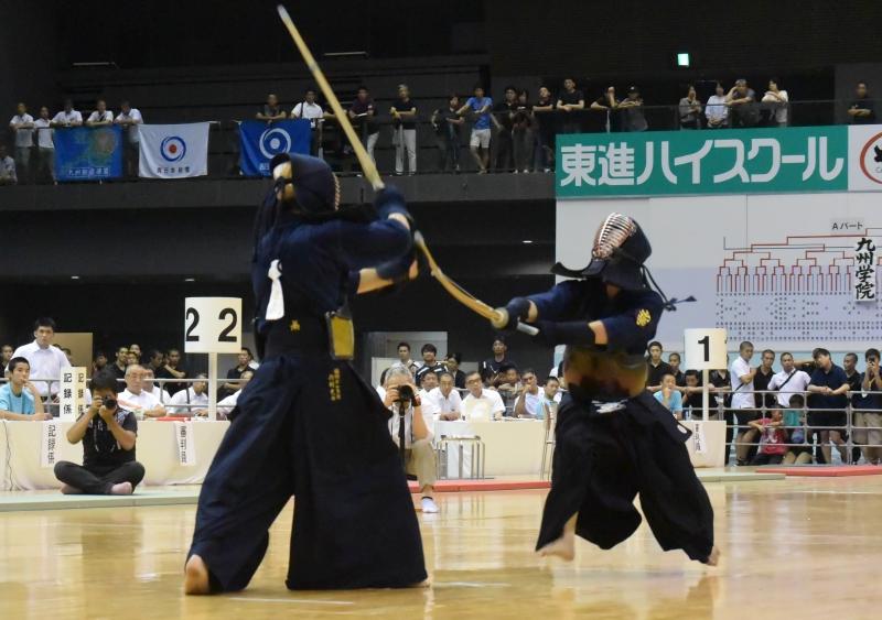 準々決勝、九州学院×福岡第一【大将】重黒木×内村