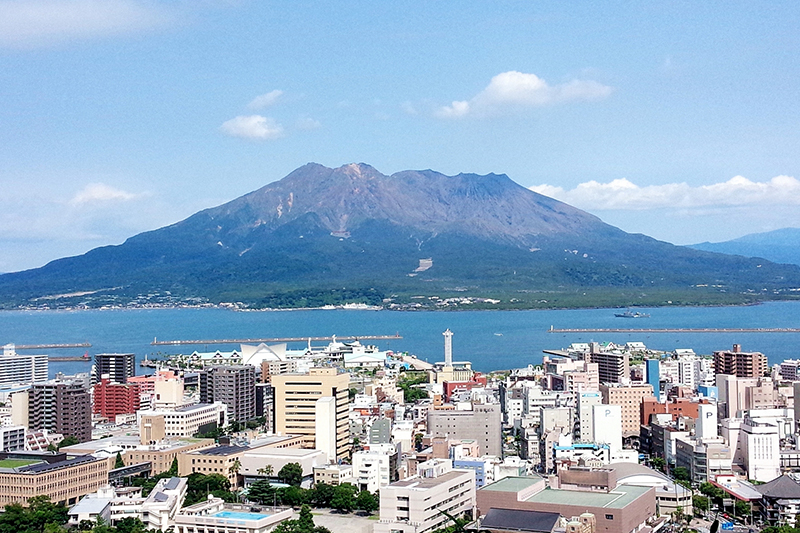 桜島(九州・鹿児島)