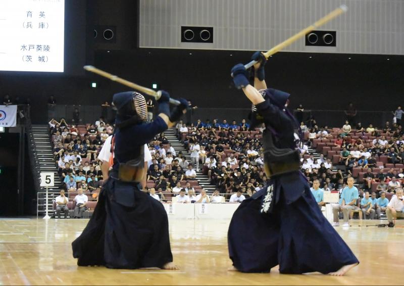 準決勝、九州学院×育英【大将】重黒木×【大将】松澤