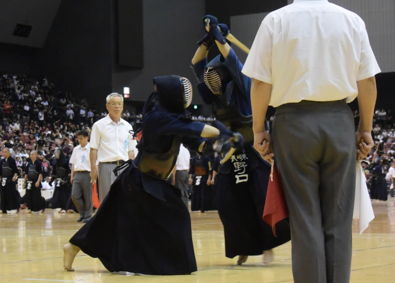 2回戦・九州学院×長崎東【副将】小川×【大将】野口